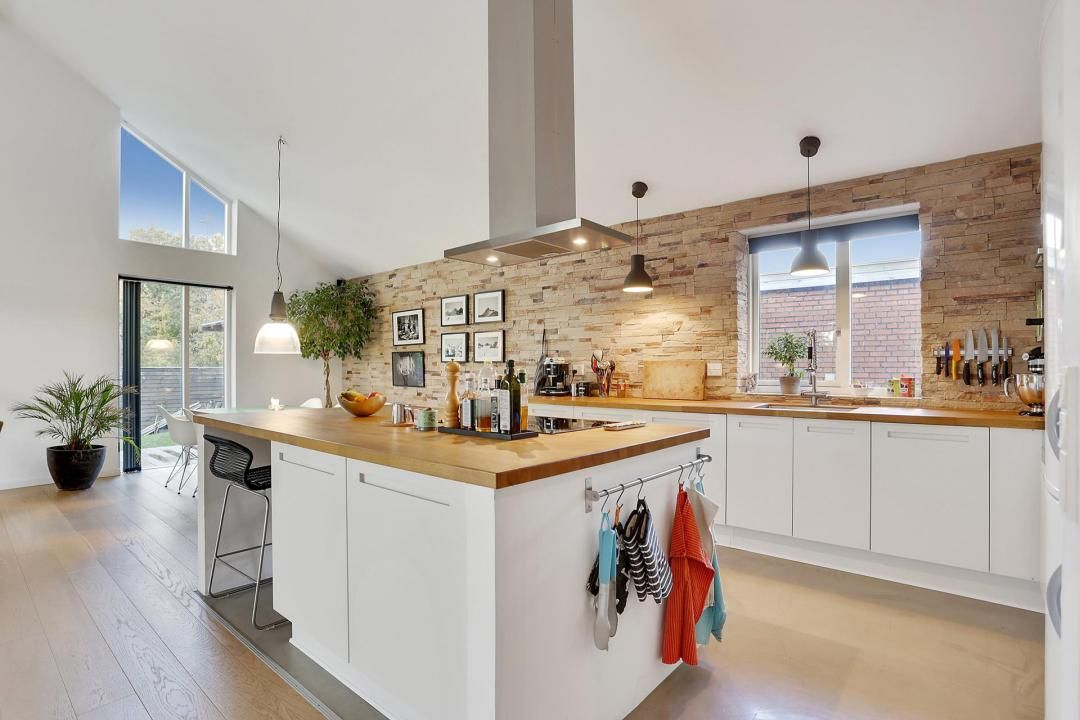 Muebles y armarios bajos de cocina | Cocina nórdica, Cocinas ...