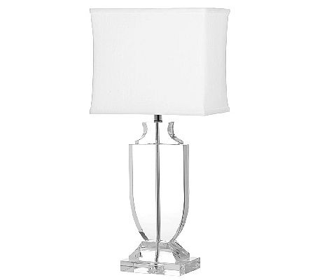 lamp presentation shade air qvc mosaic lamps com on valerie by accent inch page product with