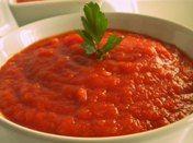 Paté de tomate y queso curado