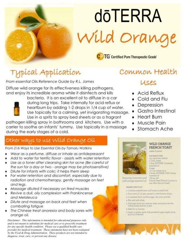 Wild Orange DoTERRA by AislingH