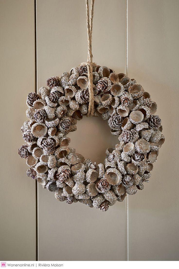 Photo of wreath autumn winter