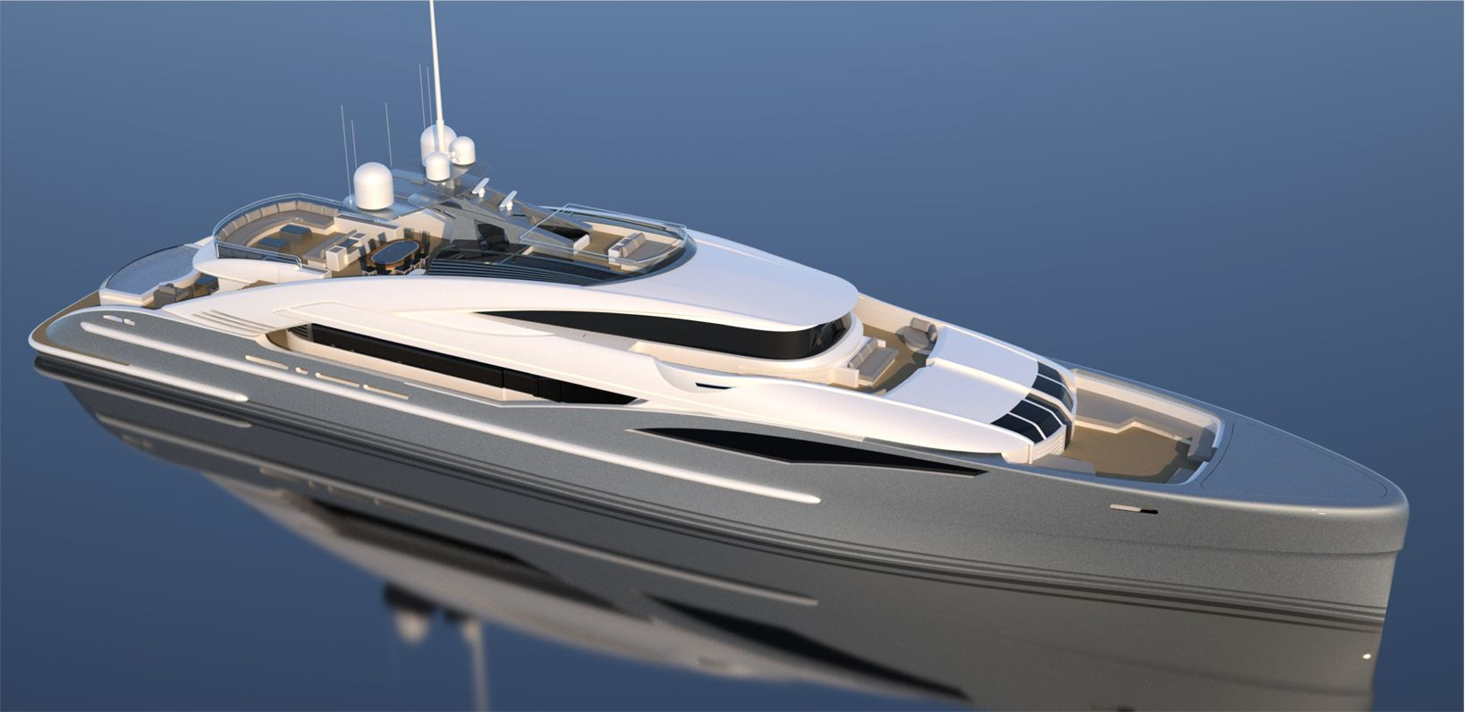 50 Meter Yacht for Sale - Granturismo Isa Yachts   Yachts 40