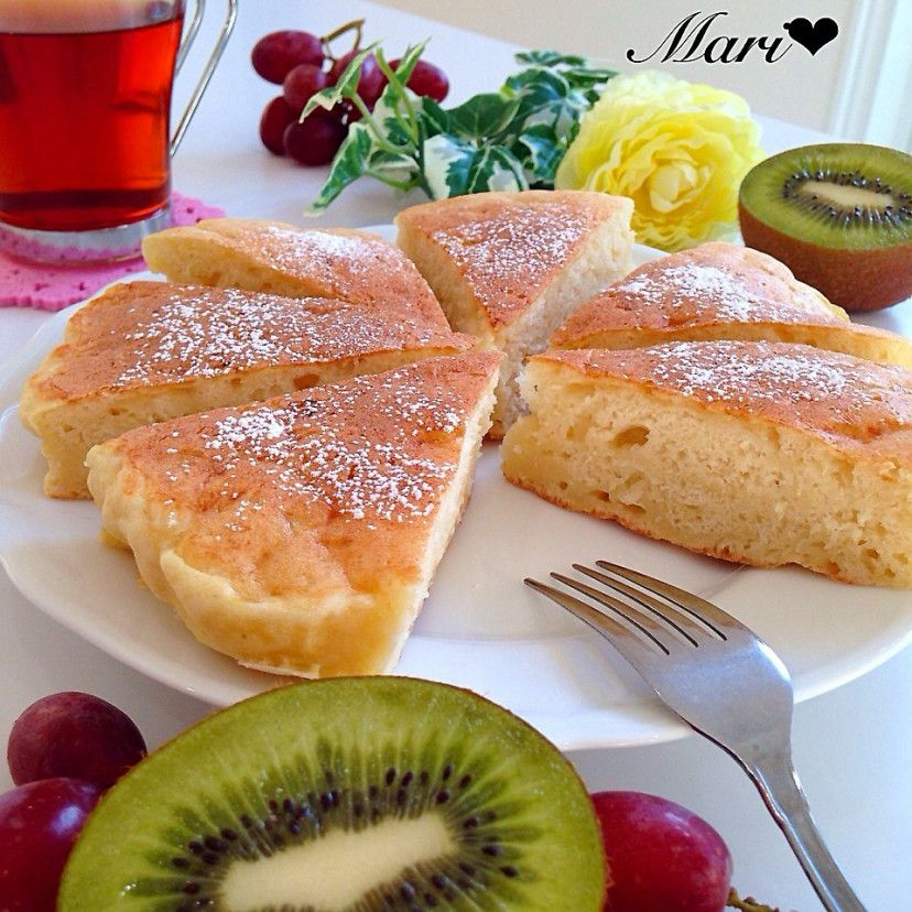 HM&豆腐☆いつものふわもちパンケーキ
