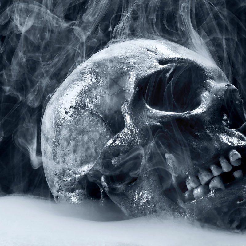 20 Halloween iPad Wallpapers Skull wallpaper, Ipad