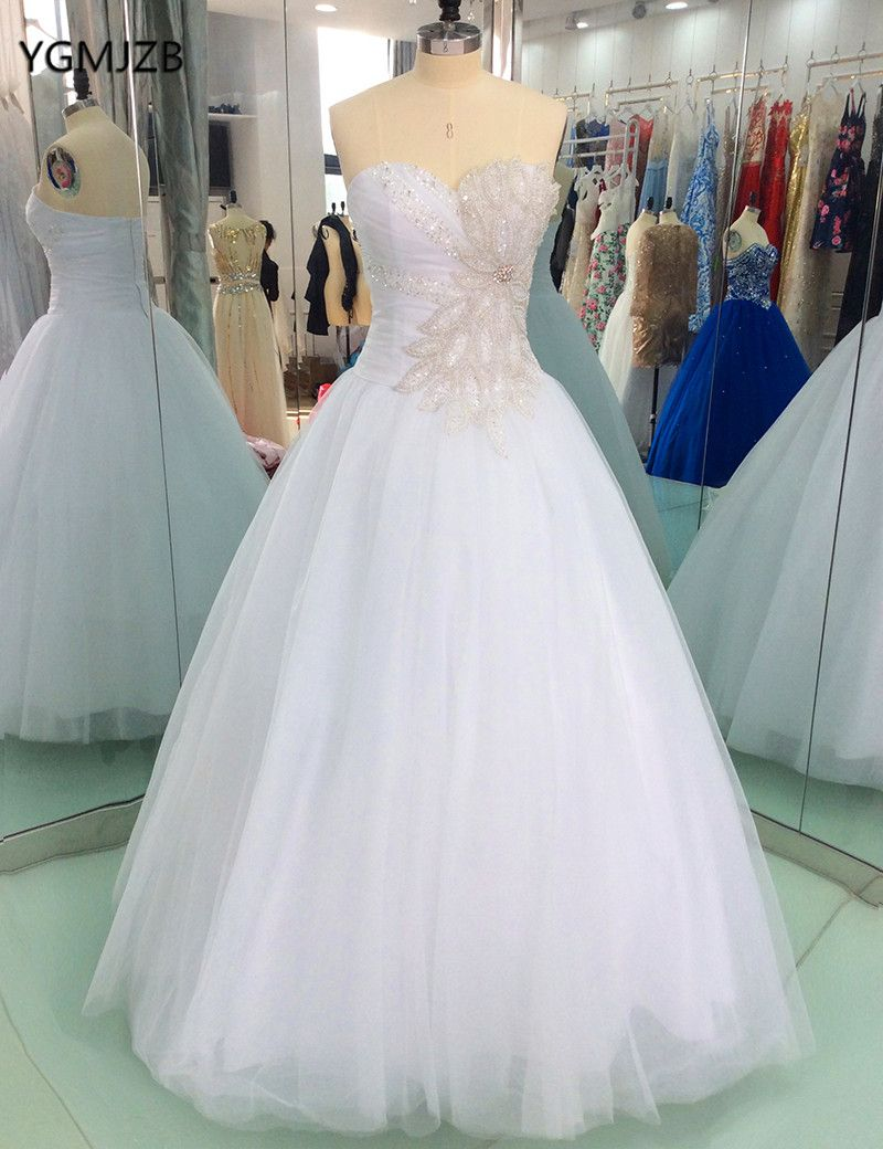 Wedding dresses with rhinestones  Find More Wedding Dresses Information about Vestido de Noiva