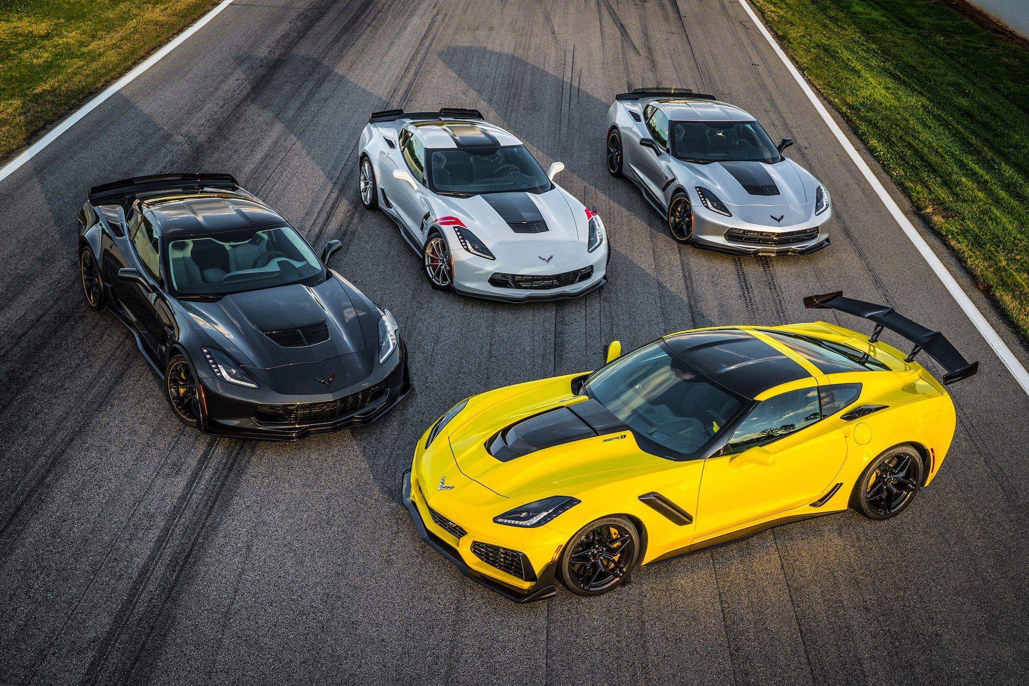 Image Result For Chevrolet Corvette Zr1 Vs Corvette Zr1
