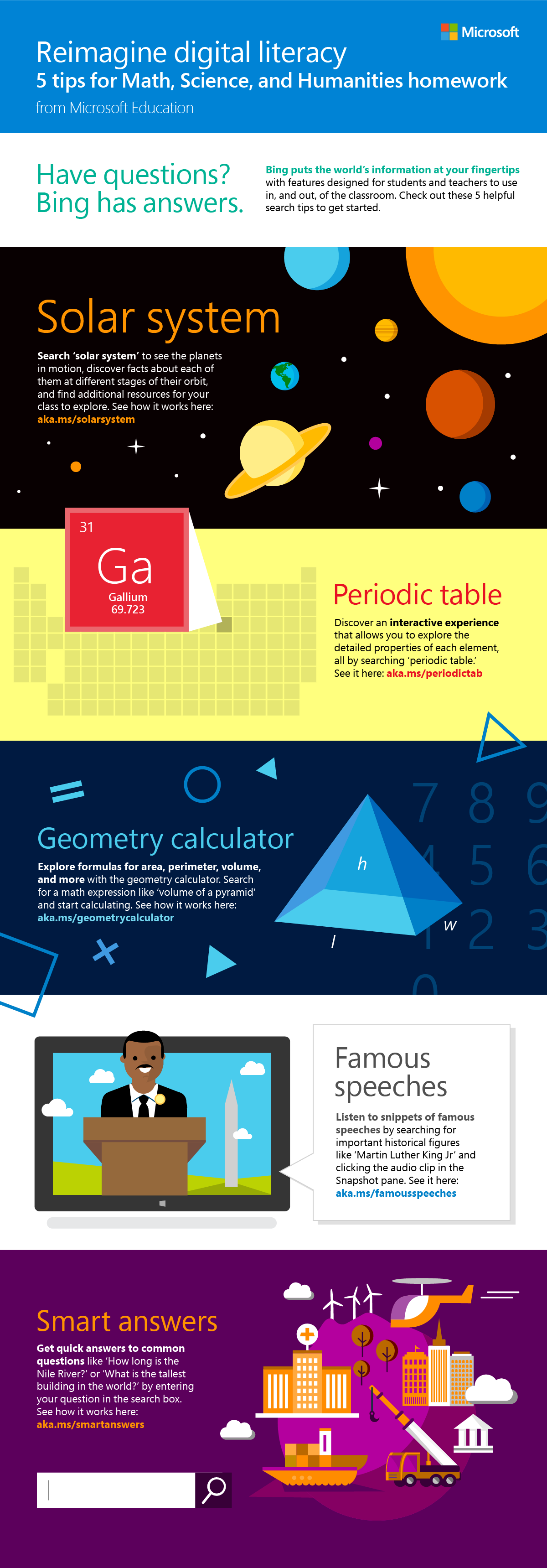 From Planets To The Periodic Table, Thereu0027s Lots For Ss To Explore Using  Bing And