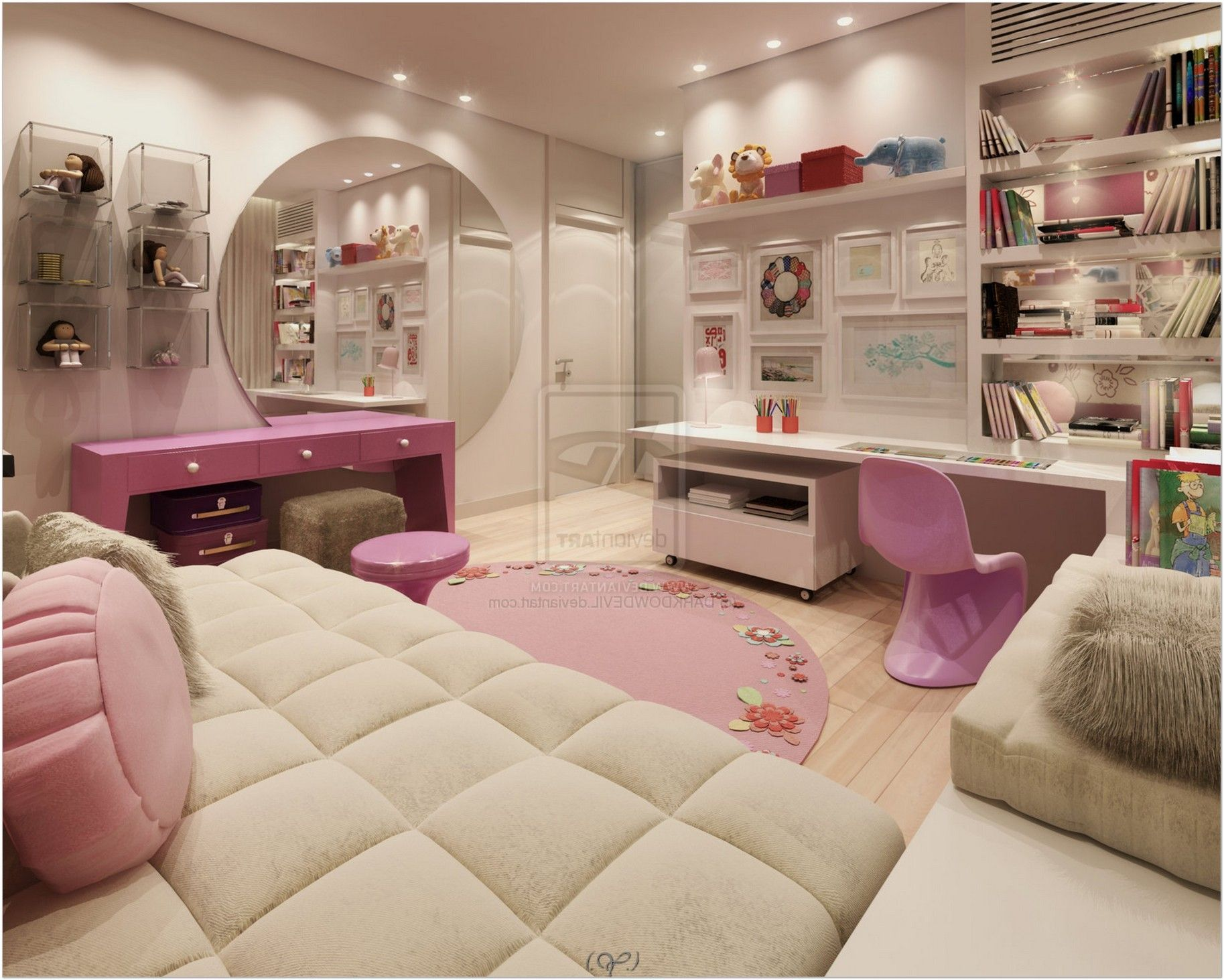 Diverse and Creative Teen Bedroom Ideas by Eugene Zhdanov images