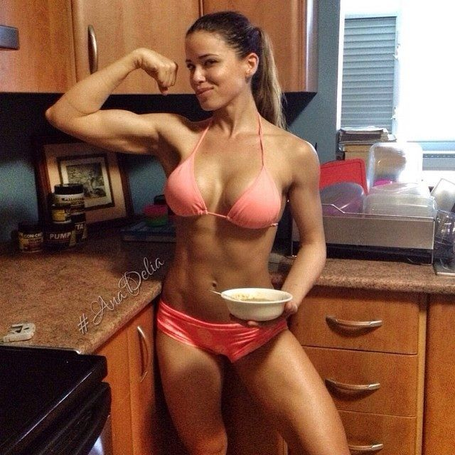 Image result for fitness girl kitchen