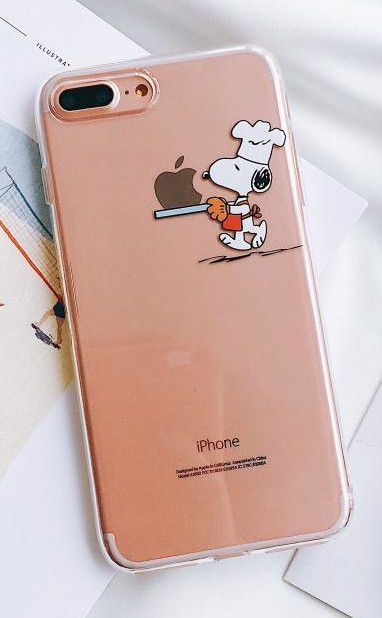 Snoopy Phone Case for Apple iPhone