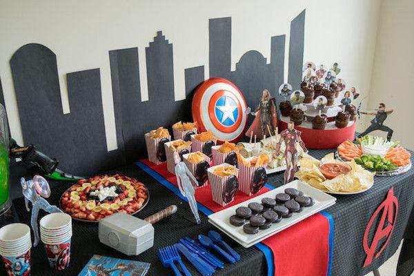 Fiestas Infantiles De Los Vengadores Pequeocio Fiesta De Los Vengadores Fiesta De Los Avengers Cumpleaños De Los Vengadores