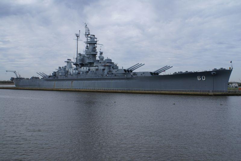 Uss Alabama Bb 60 A South Dakota Class Battleship Was The