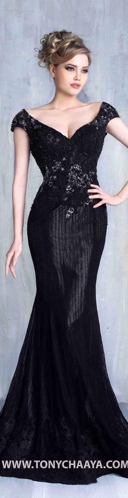 Tony Chaaya Couture 2016 Women Fashion Outfit Clothing