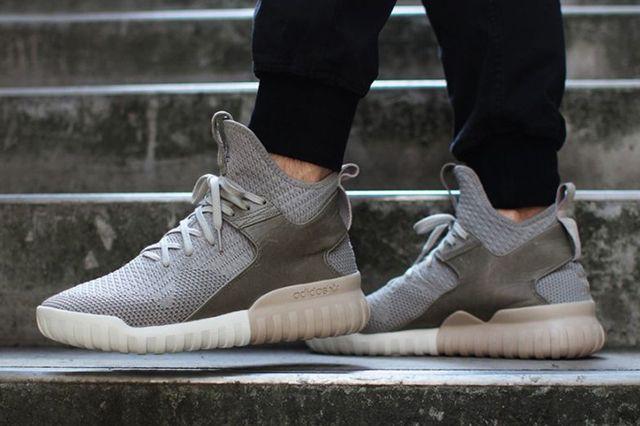 Adidas Tubular X Primeknit Grey