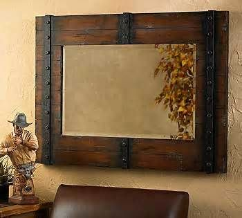 Rustic Mirror For The Home Rustic Bathroom Mirrors