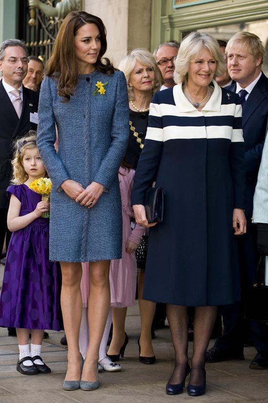Kate Middleton & Duchess of Cornwall