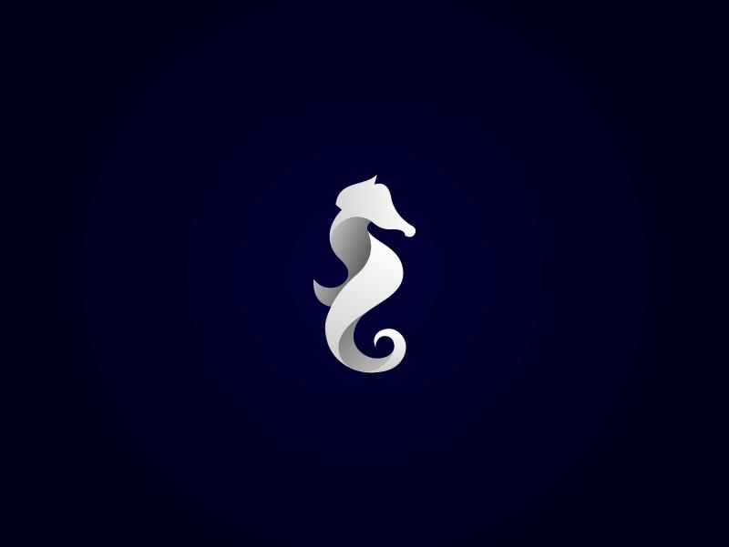 Sea Horse Horse Logo Design Seahorse Art Pet Logo Design