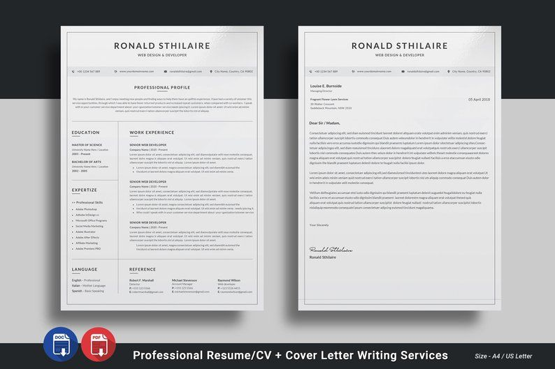Professional Resume Writing Service CV Writing Cover