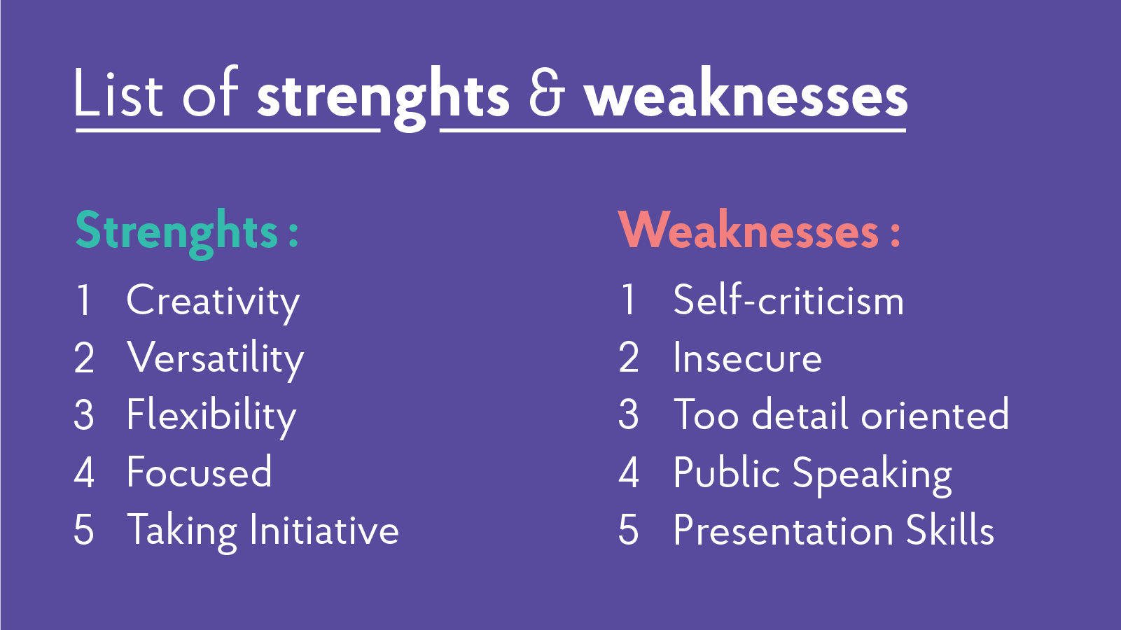 2019 strengths  u0026 weaknesses for job interviews   best