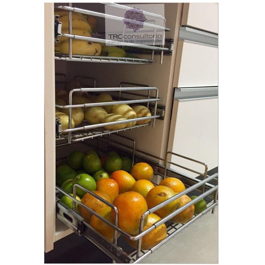 A solu o p aquela fruteira q n o combina com sua cozinha - Cestas para armarios ...