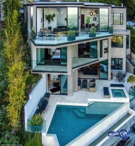 المدينة نيوز شاب يشترى منزلا بـ 4 5 ملايين دولار من خلال عمله بـ يوتيوب Luxury Homes Dream Houses Architecture House Mansions