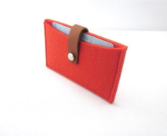 Minimalist business card holder credit card case wool felt wallet minimalist business card holder credit card case wool felt wallet handmade eco colourmoves