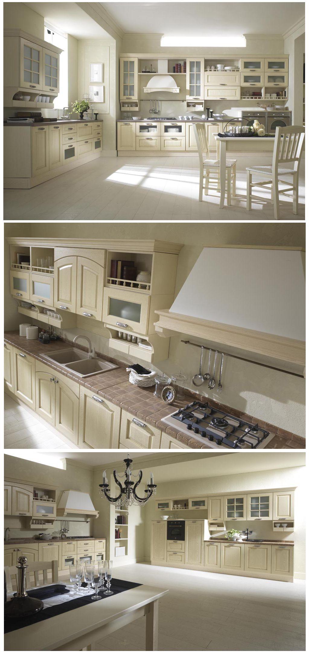 ELENA: #arredamento #cucina in stile #rustico - #design #qualità ...