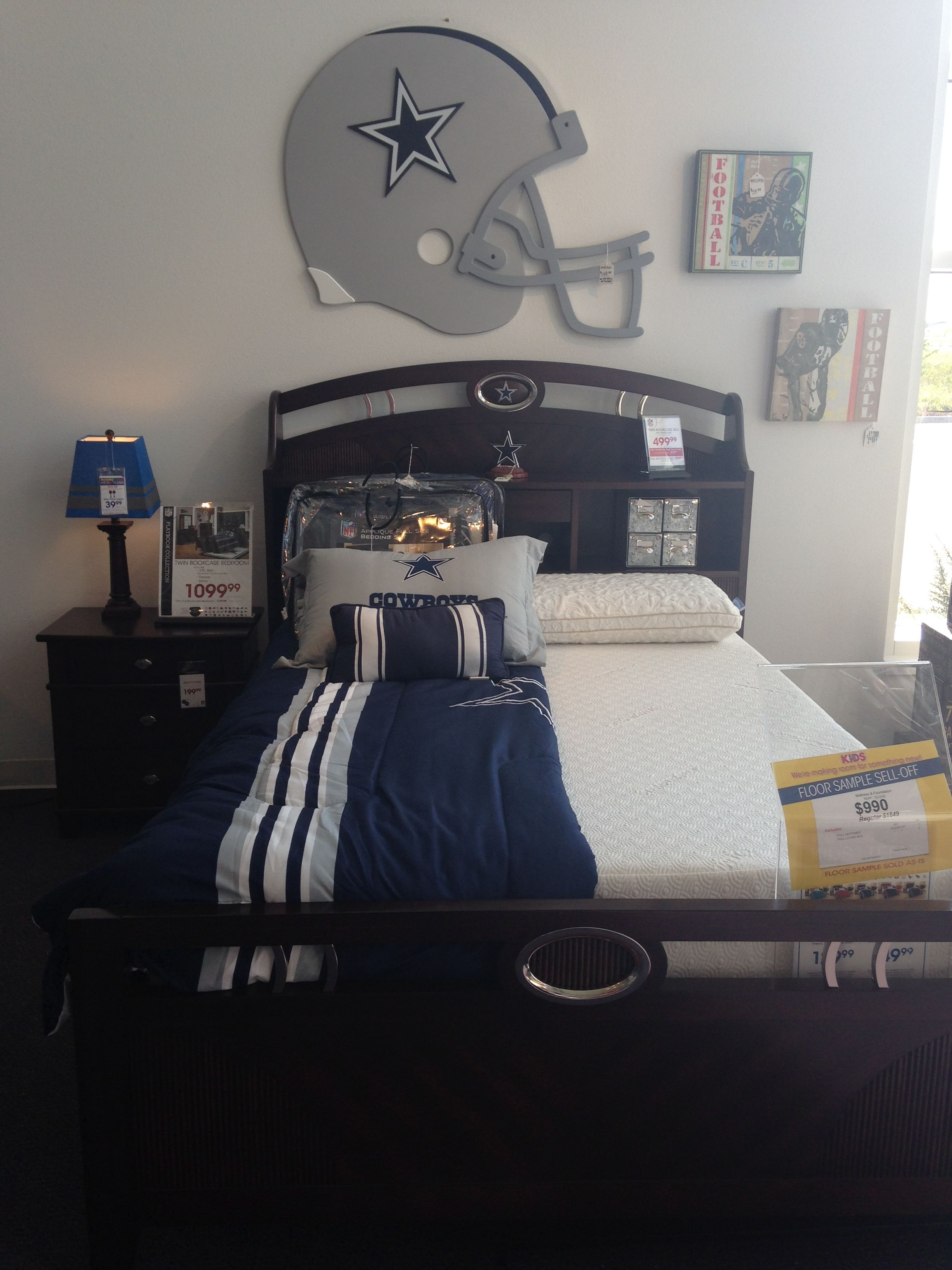 Merveilleux Dallas Cowboys Bed Set Found In Rooms To Go.