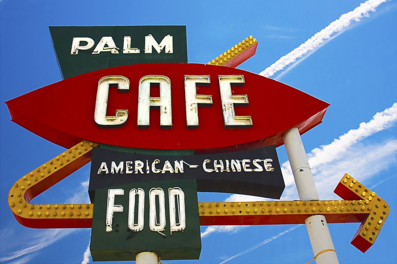 Palm Cafe by Missy Broome