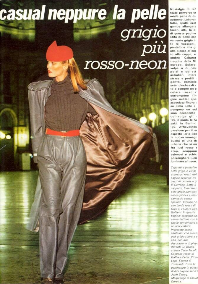 Italian Editorial photographed by Marco Glaviano