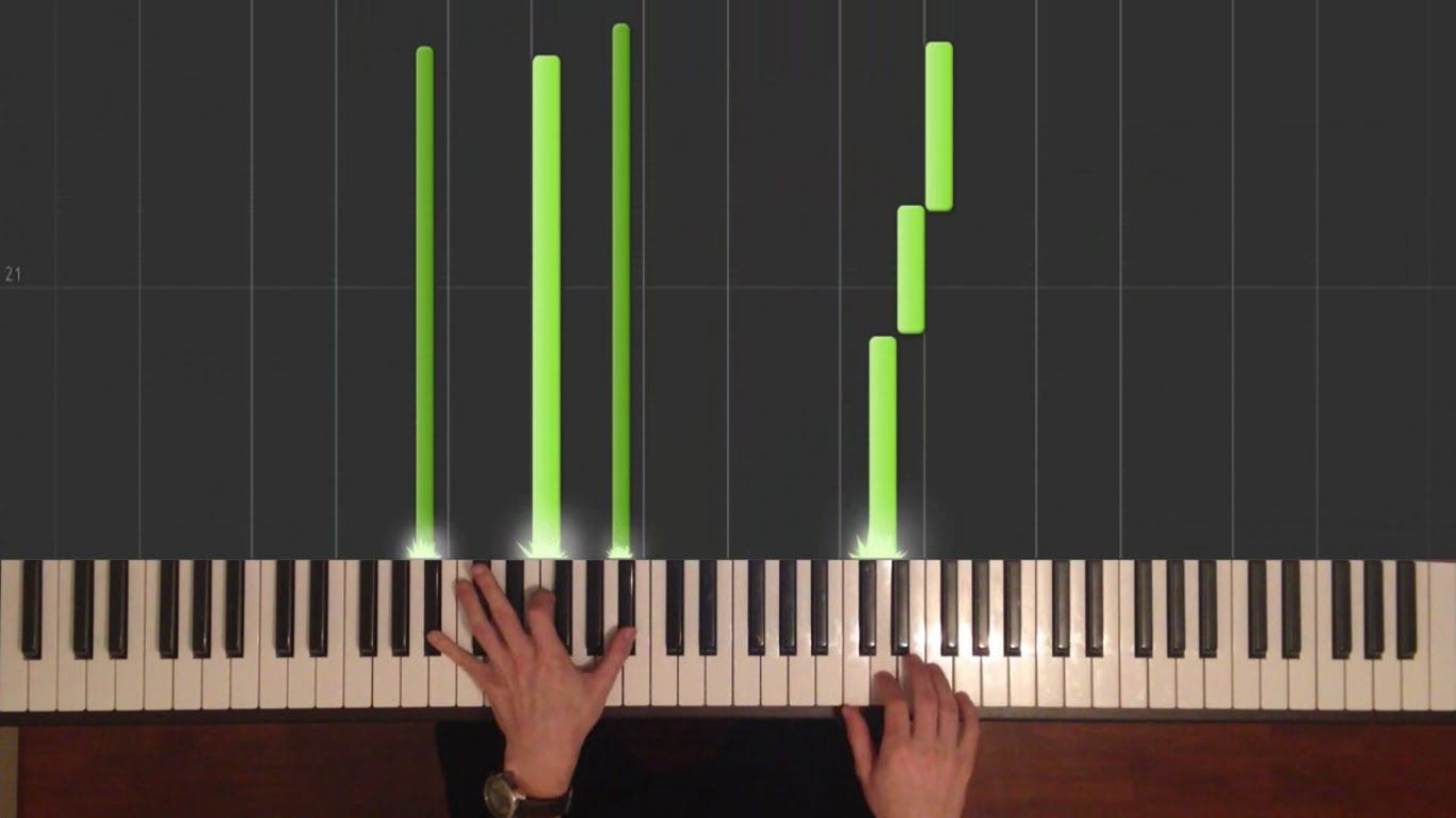 Gravity Falls Theme Song Easy Piano Tutorial How To Play