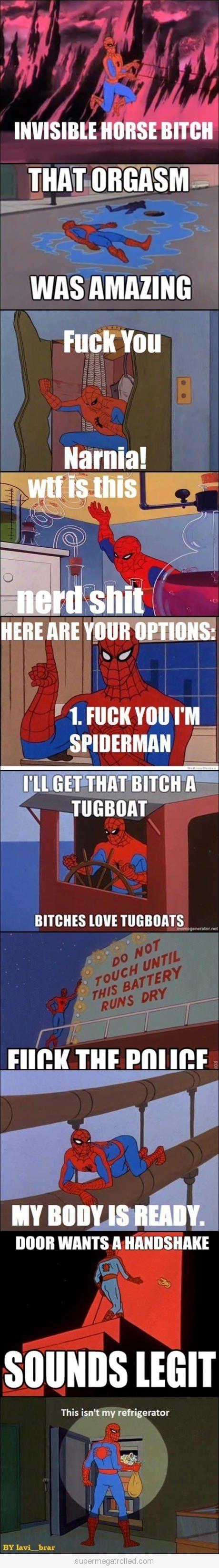 Spiderman Meme Funny Junk : Best of spiderman part meme and