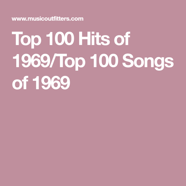 Top 100 Hits of 1969/Top 100 Songs of 1969 | Set Design and