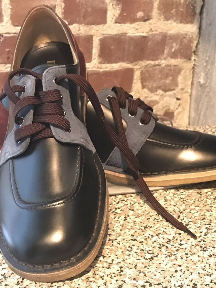 e4d9a218858a7 Prada Mens Suede Leather Laceup Casual Oxford #fashion #clothing ...