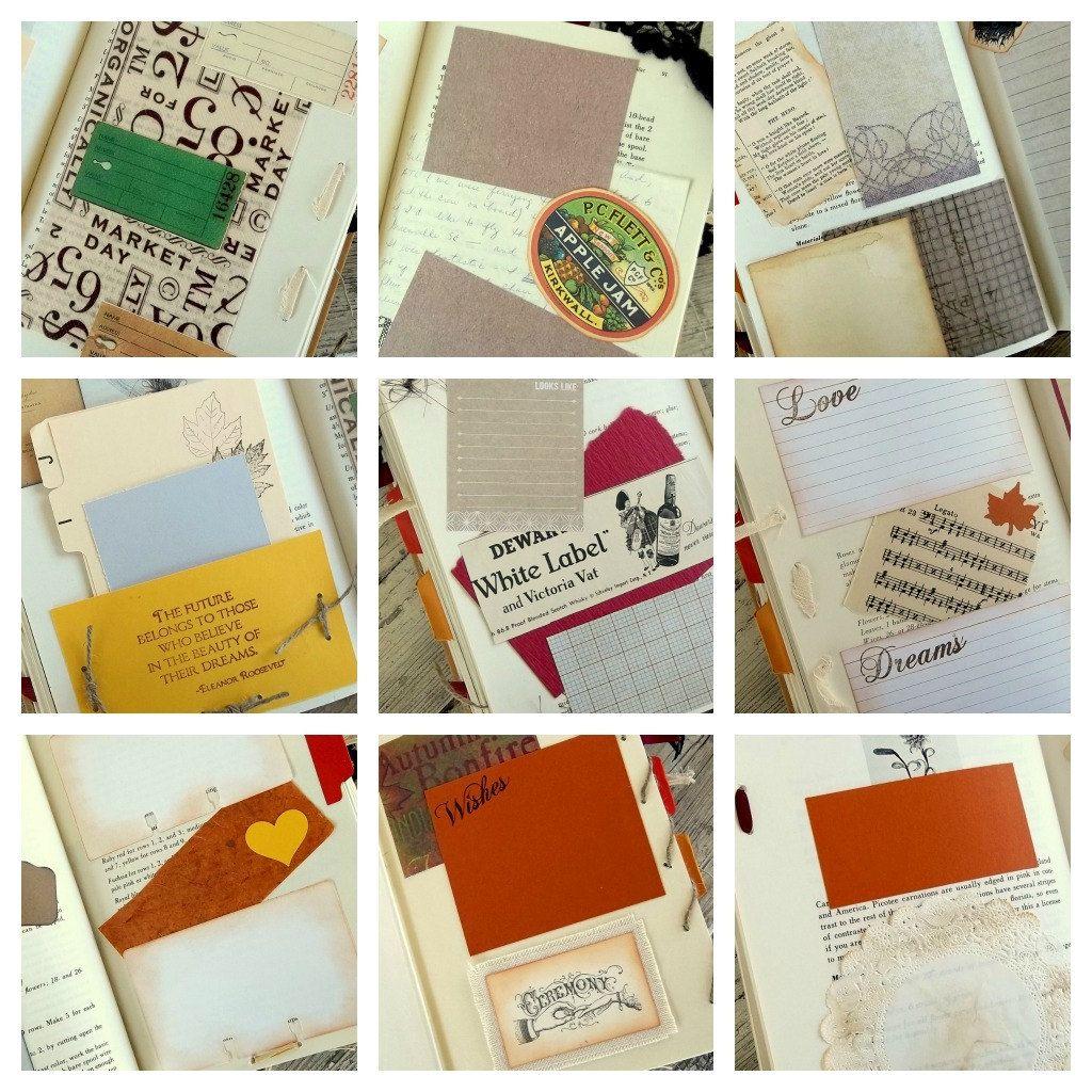 Scrapbook guest book ideas - Scrapbook Wedding Guest Book Junk Journal Smash