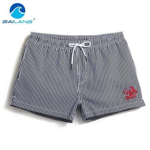 Board Shorts Gailang Brand Mens Beach Board Shorts Quick Drying Men Swimwear Swimsuits Short Bottoms Male Plus Size Boardshorts Jogger Trunk