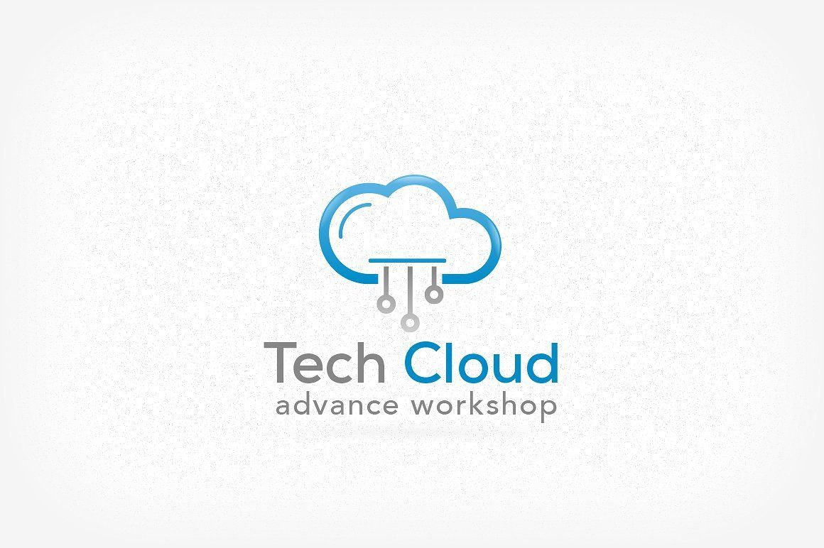Cloud Technology Logo Technology Logo Logo Design Logo Cloud