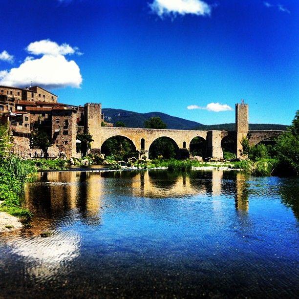 Besalú in Gerona, Cataluña