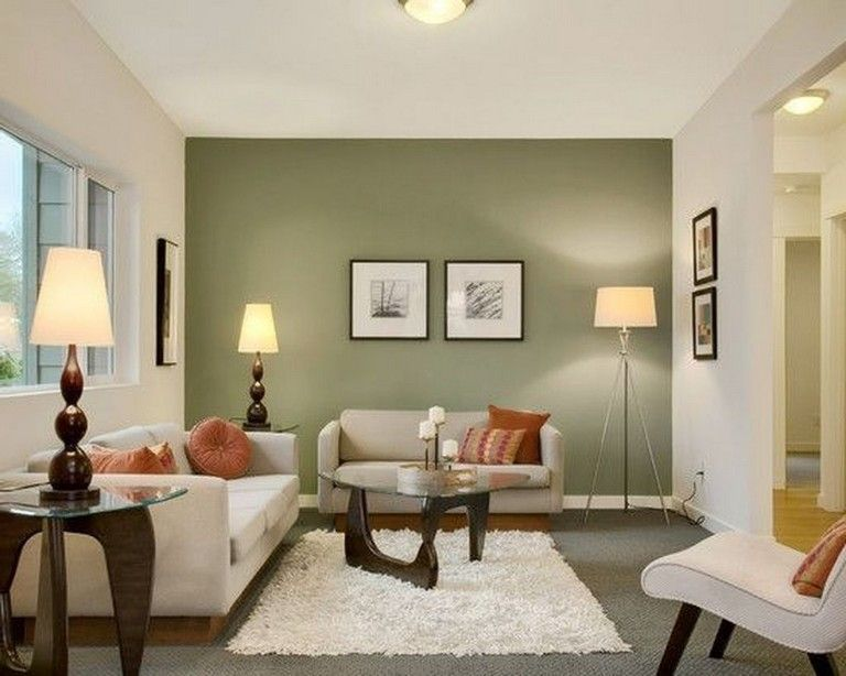 40 Cool Wall Color Inspirations For Every Room In The House Accent Walls In Living Room Living Room Color Living Room Green