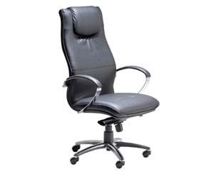posture executive leather chair ashley furniture recliner chairs lyon italian high back with padded headrest area