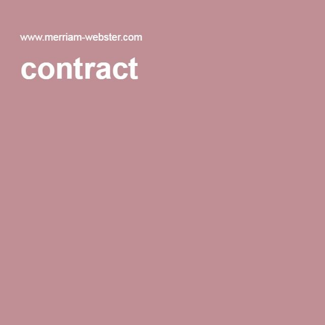 contract a voluntary agreement between two parties in which - agreements between two parties