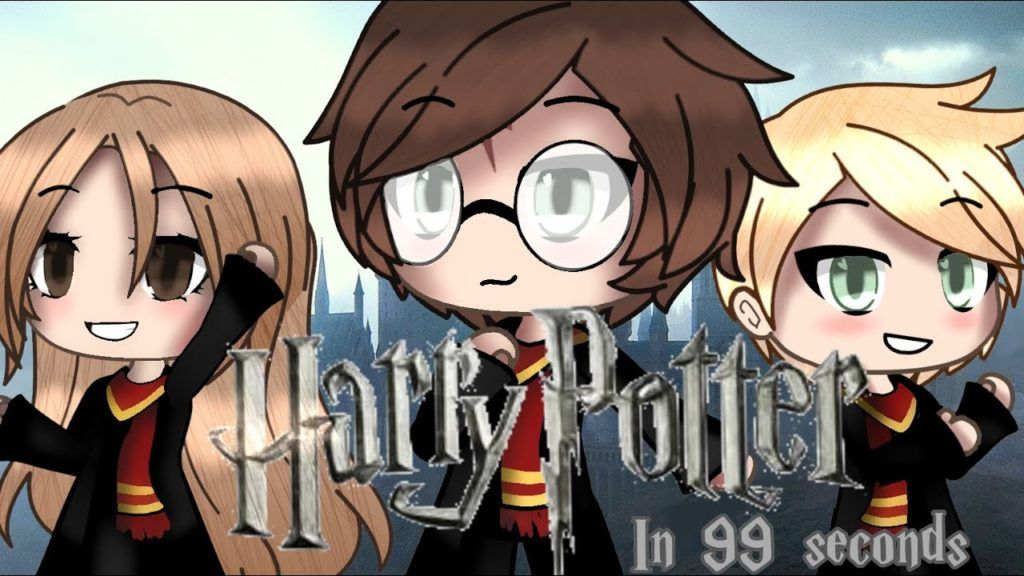Harry Potter In 99 Seconds Gacha Life Read The Pinned Comment Harry Potter Potter Anime