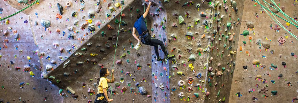 Fitness Formula Clubs - Indoor Rock Climbing- Old Town, Chicago ...