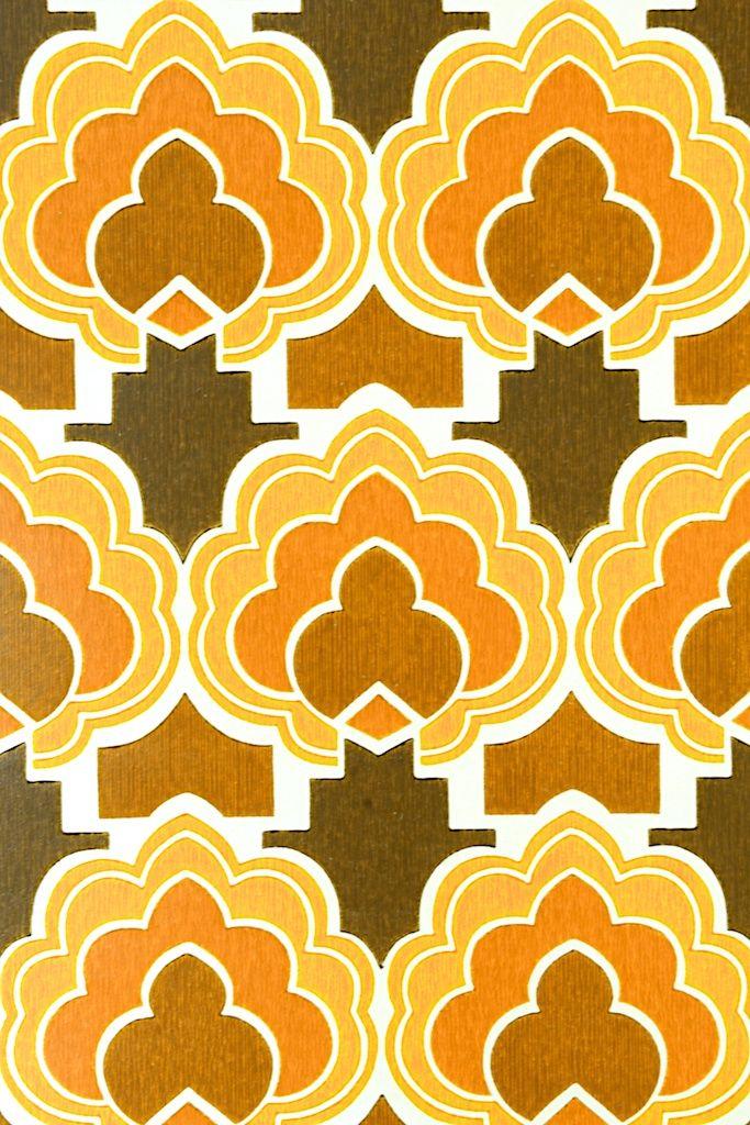 Colorful Seventies Retro Wallpaper Funky Retro Wallpaper