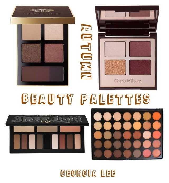 """Autumn 🍂 beauty"" by georgialeebeauty on Polyvore featuring beauty, Bobbi Brown Cosmetics, Charlotte Tilbury, Kat Von D and Morphe"
