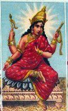 Bhuvaneshvari - https://en.wikipedia.org/wiki/Bhuvaneshvari