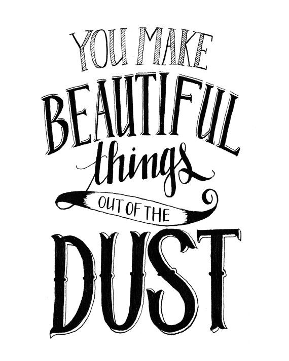 "Dust Quote Mesmerizing Digital Print 8X10  Isaiah 464 ""made You Carry You Sustain You ."