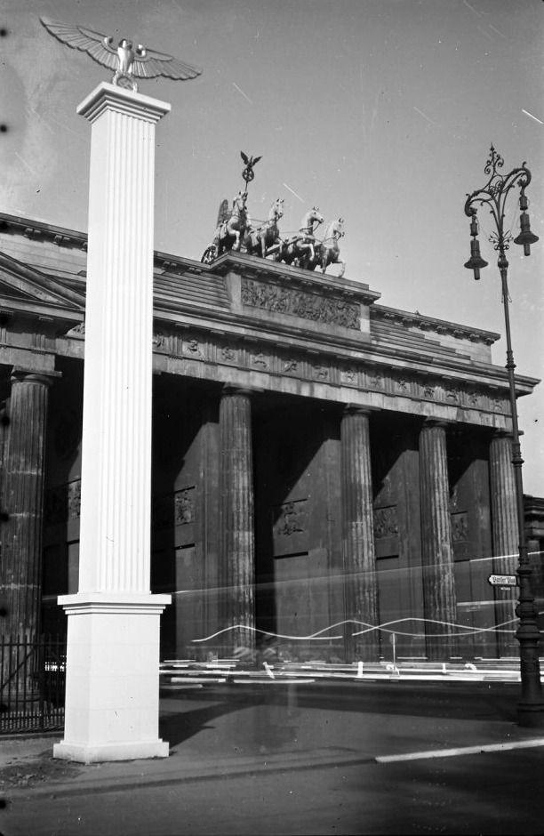 1937 Am Brandenburger Tor Berlin Spree Brandenburger Tor Berlin Geschichte