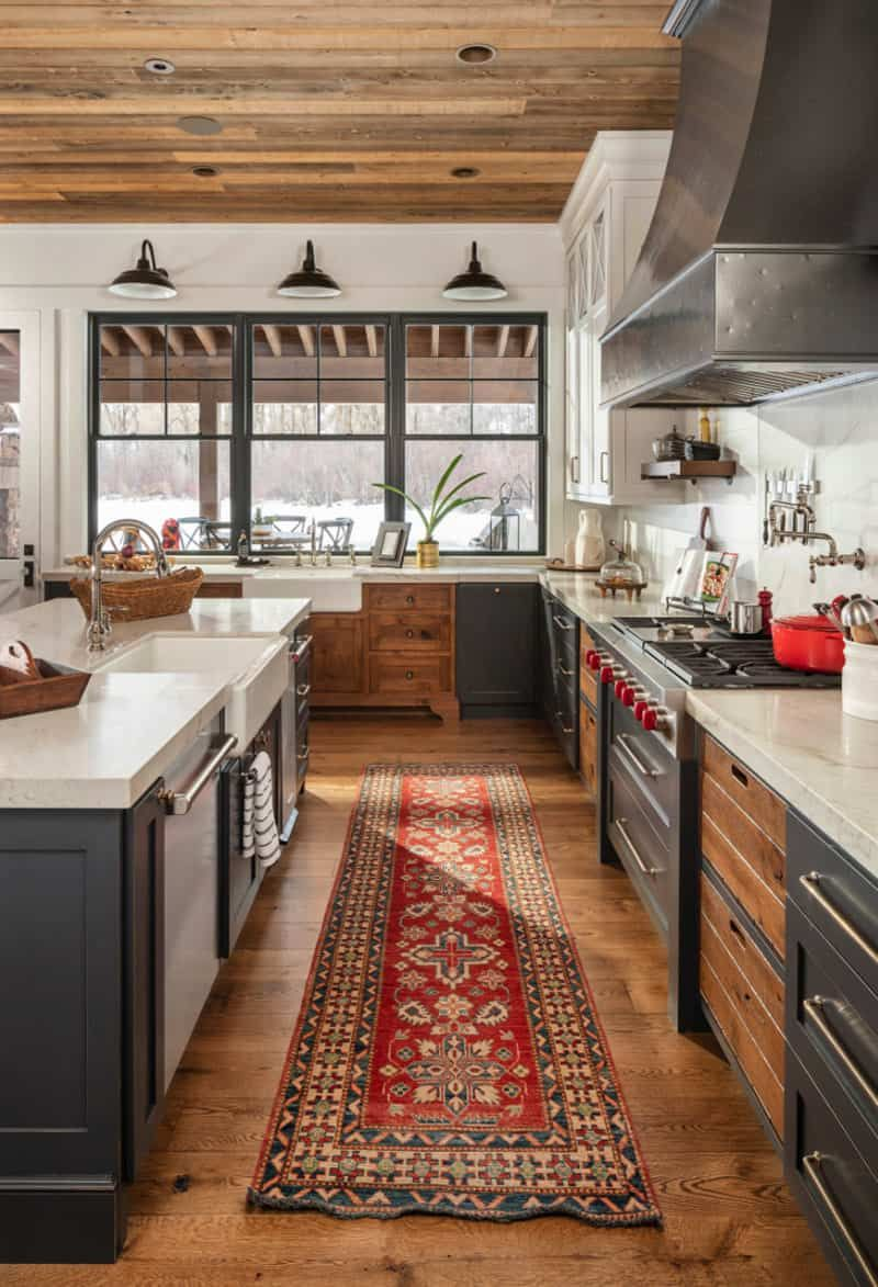 Tour a farmhouse mountain home boasting jaw-droppi