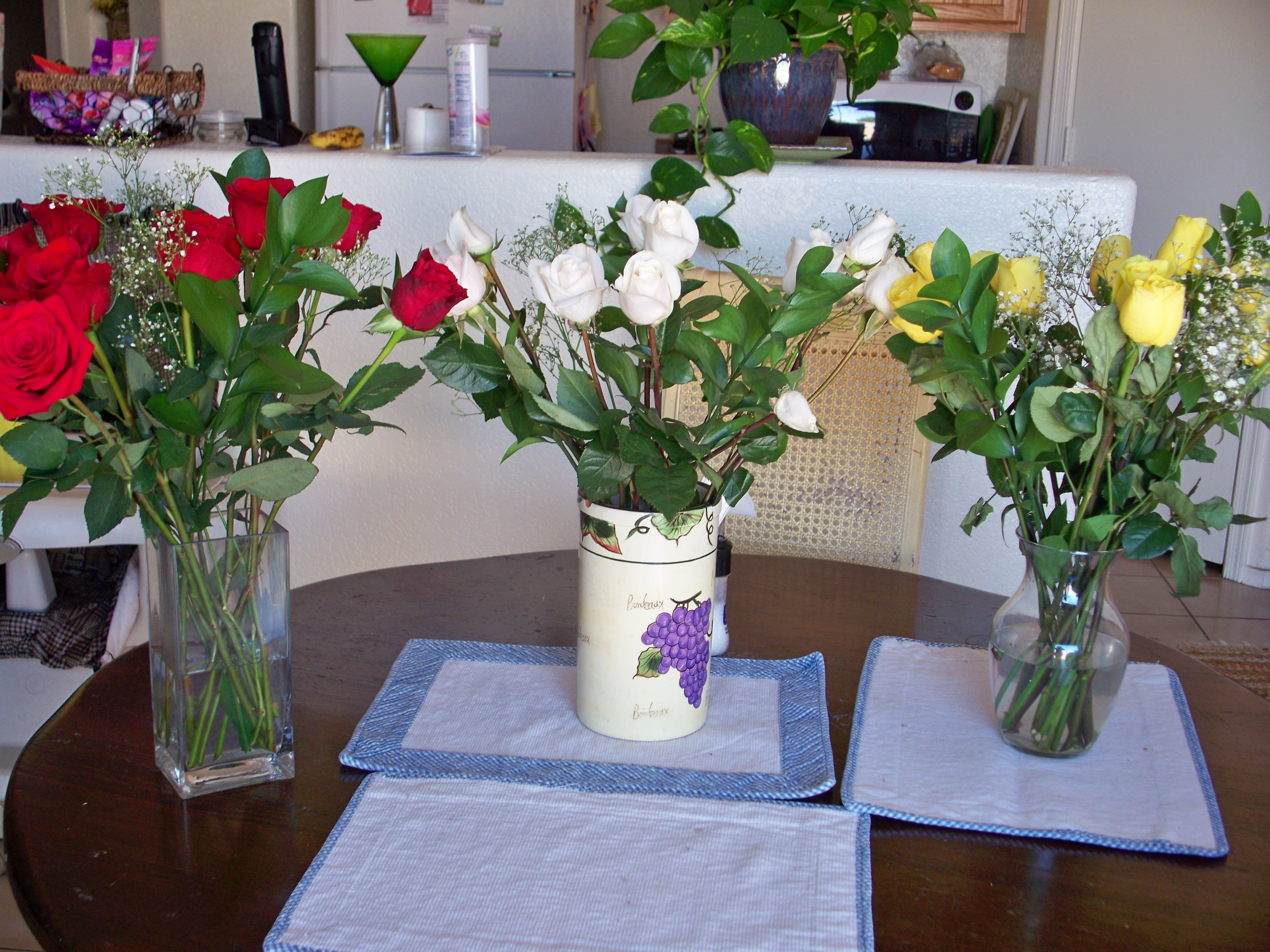 35 roses for 35th birthday my husband is the best with